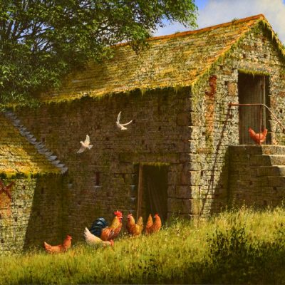 Edward_Hersey_Old_Barns_No_Frame
