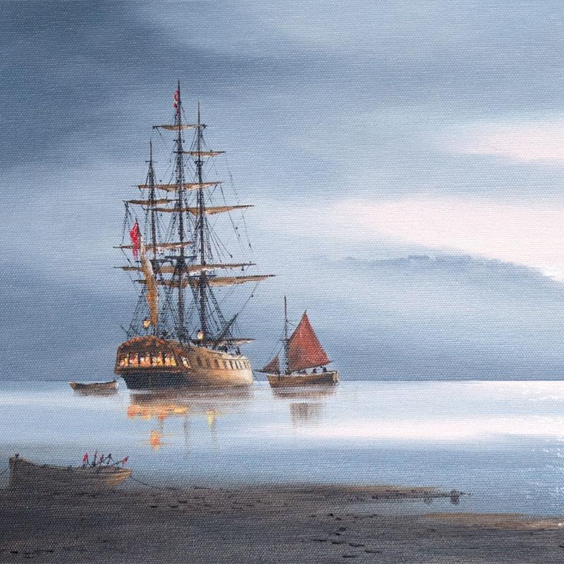Ken Hammond, maritime artist