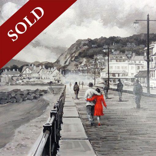 Richard-Telford-Romantic-Stroll-Along-The-Esplanade-PRODUCT-SOLD