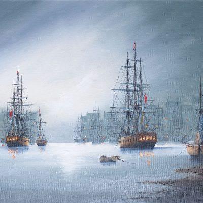 Ken-Hammond-galleons-PRODUCT