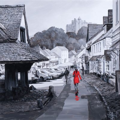 Richard-Telford-Red-Lady-in-Dunster-PRODUCT