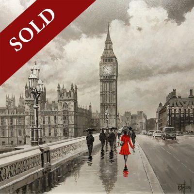 Richard-Telford-Lady-in-Red-in-London-PRODUCT-SOLD