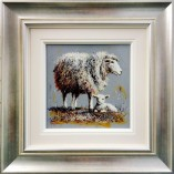 Ruby-Keller-Ewe-And-Lamb-FRAMED
