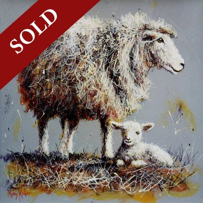 Ruby-Keller-Ewe-And-Lamb-PRODUCT-SOLD